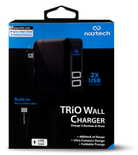 Cargador Naztech de pared